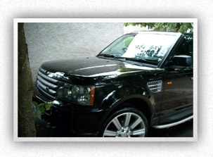 Finished Range Rover